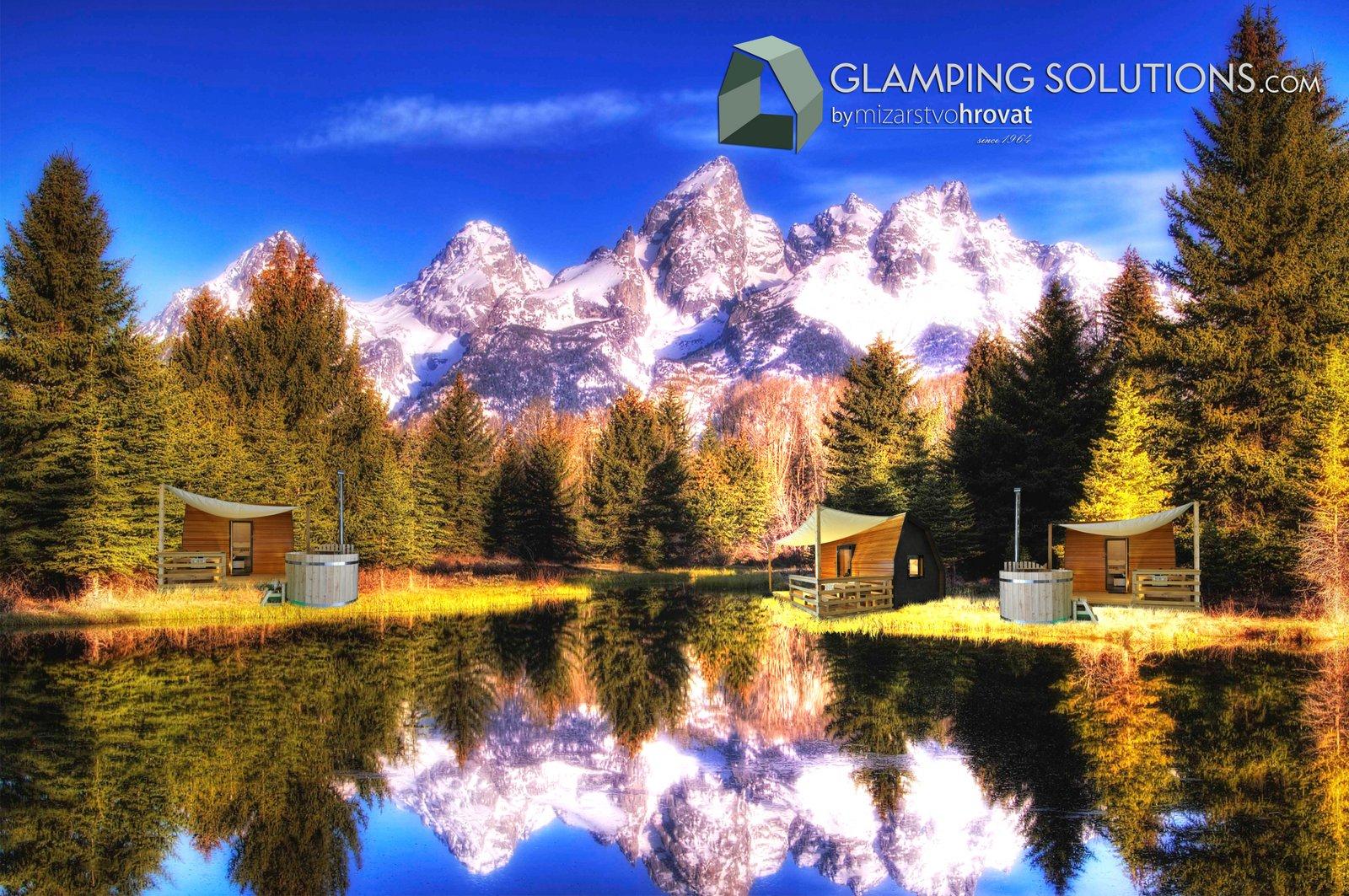Glamping-bungalows