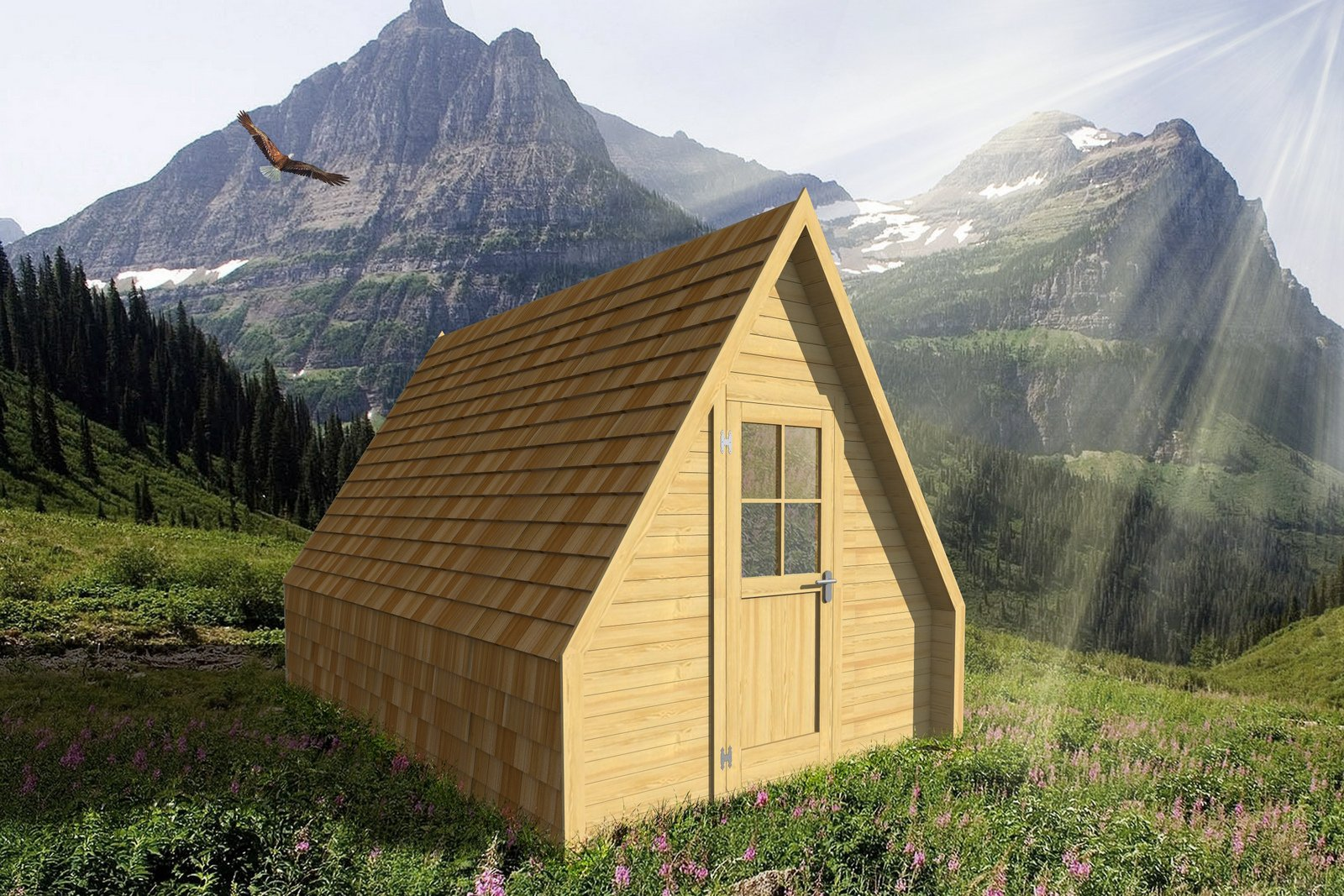 Glamping Solutions - Alpine Hut